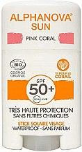 Parfüm, Parfüméria, kozmetikum Napvédő stift - Alphanova Sun Pink Coral SPF50+