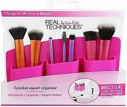 """Parfüm, Parfüméria, kozmetikum Sminkecsettartó """"Rózsaszín"""" - Real Techniques 3 Pocket Expert Organizer Pink"""