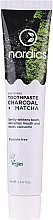 Parfüm, Parfüméria, kozmetikum Fogfehérítő paszta szénnel és matchaval - Nordics Whitening Charcoal Matcha Tooshpaste