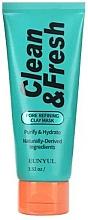 Parfüm, Parfüméria, kozmetikum Pórustísztító agyagmaszk - Eunyul Clean & Fresh Pore Refining Clay Mask