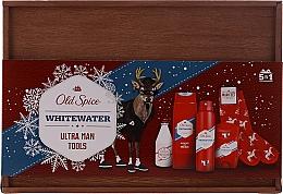 Parfüm, Parfüméria, kozmetikum Szett - Old Spice Whitewater Wooden (deo/50g + sh/gel/250ml + ash/lot/100ml + deo/spray/150ml)