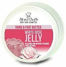 Parfüm, Parfüméria, kozmetikum Kéz- és lábápoló vaj - Hristina Stani Chef's Hand And Foot Butter White Rose Jelly