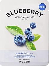 Parfüm, Parfüméria, kozmetikum Szövetmaszk - It's Skin The Fresh Blueberry Mask Sheet