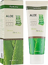 Parfüm, Parfüméria, kozmetikum Arctisztító hab aloe kivonattal - FarmStay Pure Cleansing Foam Aloe