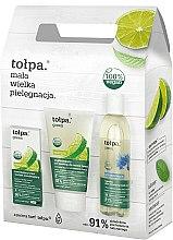 Parfüm, Parfüméria, kozmetikum Szett - Tolpa Green (micellar/200 ml + f/gel/150 ml + f/cr/ 50 ml)