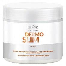 Parfüm, Parfüméria, kozmetikum Intenzív erősítő és fogyasztó maszk - Farmona Professional Dermo Slim Intensively Slimming And Firming Mask