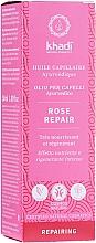 Parfüm, Parfüméria, kozmetikum Tápláló hajolaj - Khadi Ayuverdic Rose Repair Hair Oil