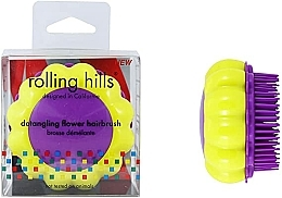 """Parfüm, Parfüméria, kozmetikum Kompakt hajfésű """"Kamilla"""" - Rolling Hills Brosse Desenredar Flower"""