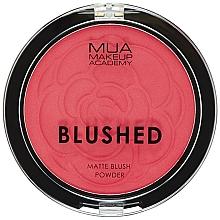 Parfüm, Parfüméria, kozmetikum Pirosító - MUA Blushed Matte Powder