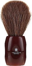 Parfüm, Parfüméria, kozmetikum Borotvapamacs 12705 - Vie-Long Peleon Horse Hair Shaving Brush Red Handle