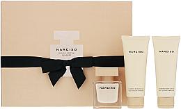 Parfüm, Parfüméria, kozmetikum Narciso Rodriguez Narciso Poudree - Szett (edp/50ml + b/lot/75ml + sh/gel/75ml)