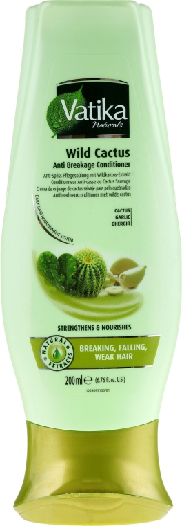 Hajkondicionáló kaktusszal - Dabur Vatika Wild Cactus Anti-Breakage Conditioner