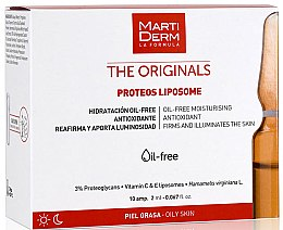 Parfüm, Parfüméria, kozmetikum Ampullák arcra - Martiderm Liposomes Ampoules Moisturizing and Firming