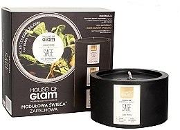 Parfüm, Parfüméria, kozmetikum Illatosított gyertya - House of Glam Oak Moss Sage Candle