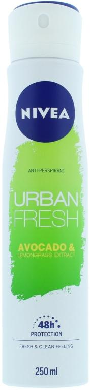 Izzadásgátló spray - Nivea Urban Fresh Avocado And Lemongrass Anti-Perspirant Spray