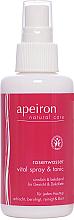 Parfüm, Parfüméria, kozmetikum Rőzsa víz arcra és dekoltázsra - Apeiron Rose Water Vital-Spray