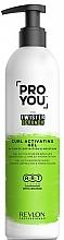 Parfüm, Parfüméria, kozmetikum Aktiváló gél göndör hajra - Revlon Professional Pro You The Twister Scrunch Curl Activator Gel