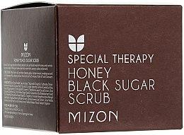 """Parfüm, Parfüméria, kozmetikum Arcradír """"Fekete cukor és méz"""" - Mizon Honey Black Sugar Scrub"""