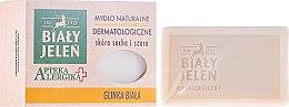 Parfüm, Parfüméria, kozmetikum Dermatológiai szappan fehér agyaggal - Bialy Jelen Apteka Alergika Soap