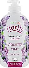 """Parfüm, Parfüméria, kozmetikum Folyékony szappan """"Ibolya"""" - Parisienne Italia Fiorile Violet Liquid Soap"""