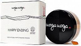 Parfüm, Parfüméria, kozmetikum Mattító púder - Uoga Uoga Happy Ending Finishing Powder