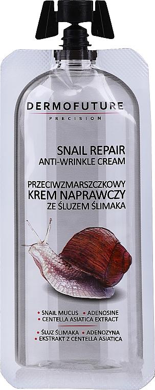 Ránctalanító krém csiganyállal - Dermofuture Snail Repair Anti-Wrinkle Cream