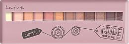 Parfüm, Parfüméria, kozmetikum Szemhéjfesték paletta - Lovely Classic Nude Make Up Kit