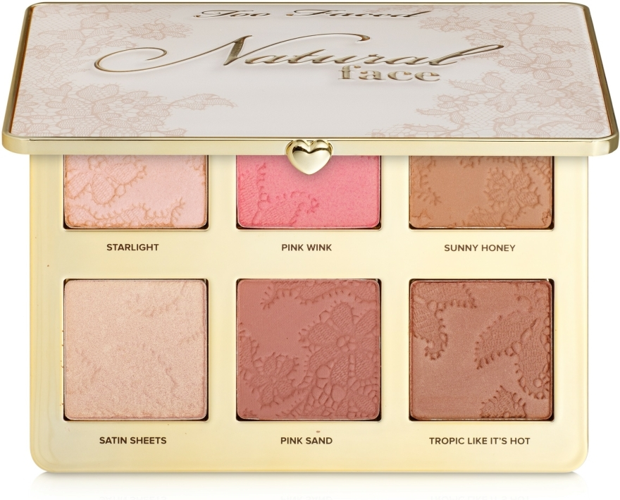 Kontúrozó paletta - Too Faced Natural Face Palette