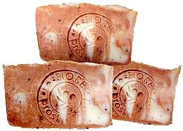 """Parfüm, Parfüméria, kozmetikum Természetes kézműves szappan """"Málna és zabtej"""" - E-Fiore Natural Soap Raspberry And Oat Milk"""