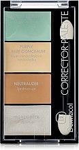 Parfüm, Parfüméria, kozmetikum Korrektor és highlighter paletta - Dermacol Corrector Palette