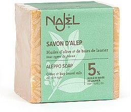 Parfüm, Parfüméria, kozmetikum Aleppo szappan babérolajjal 5% - Najel Aleppo Soap 5% Bay Laurel Oil