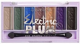 Parfüm, Parfüméria, kozmetikum Szemhéjpúder paletta - Lovely Electric Plum Eyeshadow