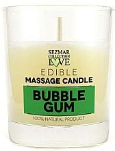 """Parfüm, Parfüméria, kozmetikum Természetes masszázs gyertya """"Bubble gum"""" - Sezmar Collection Bubble Gum"""