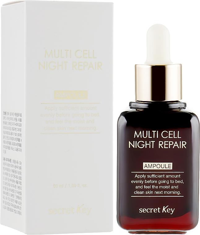 Éjszakai szérum - Secret Key Multi Cell Night Repair Ampoule