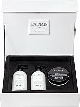 Parfüm, Parfüméria, kozmetikum Készlet - Balmain Paris Hair Couture Moisturizing Care Set (shm/300ml + cond/300ml + mask/200ml)