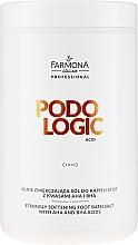 Parfüm, Parfüméria, kozmetikum Lábpuhító fürdősó - Farmona Podologic Acid Strongly Softening Foot Bath Salt