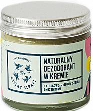 Parfüm, Parfüméria, kozmetikum Izzadásgátló krém citrusos-gyógynövényes illattal - Cztery Szpaki