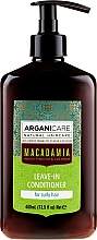 Parfüm, Parfüméria, kozmetikum Öblítést nem igénylő kondicionáló göndör hajra - Arganicare Macadamia Leave-In Conditioner