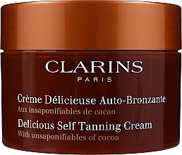 Parfüm, Parfüméria, kozmetikum Önbarnító arckrém - Clarins Delicious Self Tanning Cream