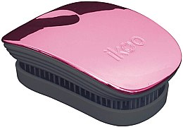 Parfüm, Parfüméria, kozmetikum Hajkefe fésű - Ikoo Pocket Rose Metallic Black