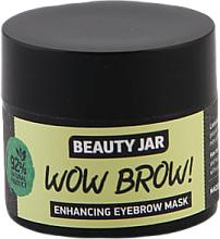 Parfüm, Parfüméria, kozmetikum Szemöldöknövekedést serkentő maszk - Beauty Jar Wow Brow! Enhancing Eyebrow Mask