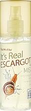 Parfüm, Parfüméria, kozmetikum Csiga mucin gél-mist - FarmStay It's Real Escargot Gel Mist