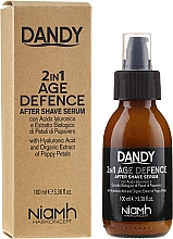 Parfüm, Parfüméria, kozmetikum Borotválkozás utáni szérum - Niamh Hairconcept Dandy 2 in 1 Age Defence Aftershave Serum