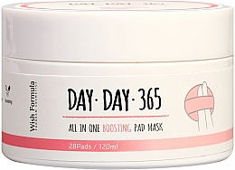 Parfüm, Parfüméria, kozmetikum Hámlasztó szivacsok savakkal - Wish Formula Day Day 365 All in One Boosting Pad Mask