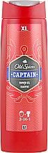 Parfüm, Parfüméria, kozmetikum Tusfürdő - Old Spice Captain Shower Gel