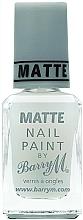 Parfüm, Parfüméria, kozmetikum Matt fedőlakk - Barry M Matte Nail Paint Top Coat