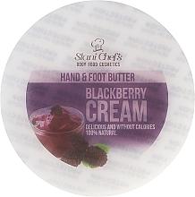 "Parfüm, Parfüméria, kozmetikum Krém kézre és lábra ""Földi szeder krém"" - Hristina Cosmetics Stani Chef's Blackberry Cream Hand & Foot Butter"