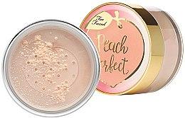 Parfüm, Parfüméria, kozmetikum Porpúder - Too Faced Peach Perfect Mattifying Loose Setting Powder