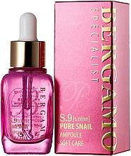 Parfüm, Parfüméria, kozmetikum Intenzív regeneráló szérum csiga mucinnal - Bergamo Specialist S9 Snail Ampoule