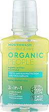 Parfüm, Parfüméria, kozmetikum Szájöblítő 3 az 1-ben - Organic People Coconut And Mint